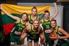 Lietuvos moterų krepšinio rinktinės fotosesija.