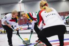 Lietuvos akmenslydininkai Europos čempionate Švedijoje.