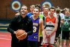 """""""SKM–VitirON KIDS karjeros dienų"""" svečiu tapo krepšinio agentas Tadas Bulotas."""