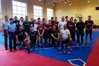 Vilniuje surengtasis pirmasis Baltijos beisbolo-5 taurės turnyras.