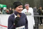 """Bėgimas """"Vilkų takais"""" Vilniuje, skirtas Pamirštiesiems kariams atminti."""