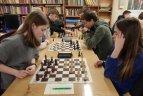 Vilniaus gimnazistų žaidynių šachmatų varžybos.