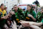2011 07 11. Pasaulio čempionų sutikimas Vilniuje.