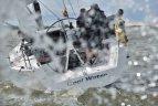 """""""Cool water"""" įgula dalyvauja """"X-35"""" jachtų klasės pasaulio čempionate."""
