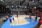 """2011 02 12. Dzūkijos sostinėje Moksleivių krepšinio lygos (MKL)  """"Žvaigždžių dienos"""" šventė."""