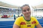 2018 08 09. Europos lengvosios atletikos čempionatas Berlyne. Moterų disko metimo atranka.