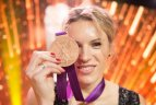 Austrai Skujytei įteiktas Londono olimpinių žaidynių bronzos medalis.