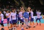 """""""Vilniaus kolegijos-Flamingo Volley"""" tinklininkai apgynė Lietuvos čempionų titulą"""
