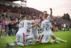 2019 08 15. Europos futbolo lygos trečiojo atrankos etapo atsakomosios rungtynės