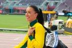 2019 10 03. Lengvosios atletikos pasaulio čempionatas Dohoje. Moterų trišuolio atranka.