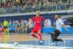 """UEFA salės futbolo Čempionų lyga. Kauno """"Vytis"""" – Kazachstano """"Ayat""""."""