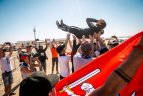 B.Vanago ekipažas Dakaro ralyje iškovojo 15-ąją vietą galutinėje įskaitoje.