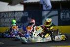 FIA Europos kartingo čempionato 1-ojo etapo lenktynės. Kajus Šikšnelis.
