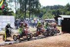 Lietuvos motokroso čempionatas grįžo į Anykščius
