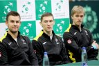 Lietuvos ir Madagaskaro tenisininkų dvikovų burtai