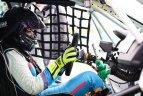 """""""GSR Motorsport"""" komandos treniruotės """"Botniaring"""" trasoje Suomijoje."""