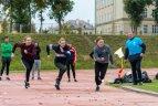 """Vilniaus kolegijos Kūno kultūros ir sporto centro Europos sporto savaitės """"Be Active"""" renginiai."""