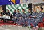Daviso taurė. Lietuva – Bosnija ir Hercegovina. Burtų traukimas