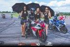 Įpusėjo motociklininkų sezonas.