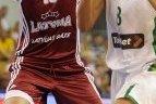 2011.06.06. Lietuvos rinktinė draugiškose rungtynėse Rygoje 57:65 pralaimėjo Latvijos ekipai