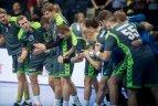 2016 11 06. Europos rankinio čempionato atranka. Lietuva - Norvegija 32:29.
