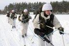 Žiemos pratybos Lietuvos kariuomenėje.