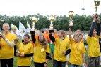Moksleivių apdovanojimas Vingio parko stadione