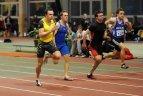 """2010 02 26. Sporto klubo  """"Cosma"""" taurės varžybų 60 metrų bėgimo finalas."""