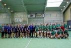 """Teniso turnyras """"Amžiaus dvikova"""" tarp Vilniaus ir Kauno."""