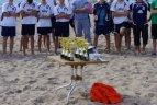 Melnragėje vyko paplūdimio tinklinio turnyras.