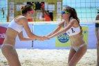 """Tinklininkės G.Grudzinskaitė ir K.Virbickaitė sėkmingai pasirodė """"Boracay Open"""" turnyre Filipinuose."""