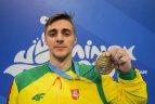2019 06 30. Europos žaidynės Minske Lietuvai baigėsi gimnasto R.Tvorogalo auksiniu triumfu.