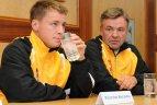 2010.07.08 Burtai išsaiškino Deviso taurės turnyro varžybų tarp Lietuvos ir Airijos tenisininkų poras