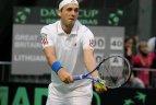 2010.03.05. Daviso taurės varžybos: Ričardas Berankis - Danas Evansas