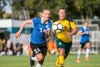 2018.08.31 Baltijos moterų taurės turnyras. Estija - Lietuva 0:0