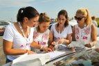 """""""108 km moterų iššūkio Powered by Kristiana"""" ralis."""