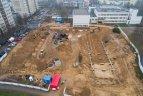 Vilniaus Pašilaičių rajone pradėtos didžiulio trijų sporto salių komplekso statybos.