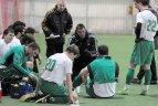 """2010.02.06. Draugiško futbolo rungtynės tarp Vilniaus """"Žalgirio"""" ir """"Blazma"""" vienuolikių"""