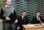 """2010.01.30. Vilniaus """"Žalgiris"""" pasirašė sutartis su treneriais Igoriu Pankratjevu ir Mindaugu Čepu"""