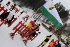 """2010.01.31. Ignalinoje vyko sporto draugijos """"Žalgiris"""" žiemos žaidynių slidinėjimo varžybos"""