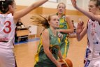 2010.02.03. Lietuvos moterų krepšinio lygos rungtynės tarp Vilniaus TEO ir Marijampolės LAMMKK