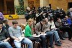 """2011 01 27. Sutarties tarp UAB """"Švyturys-Utena"""" ir """"Eurobasket 2011"""" pasirašymas."""