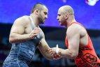 2019 06 29. Europos žaidynėse kovojo imtynininkai R.Fridrikas ir E.Stankevičius.