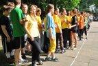 Mažoji Užupio gimnazijos olimpiada 2010. Piešinių konkursas sporto tema.