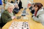 """Sporto draugijos """"Žalgiris"""" žiemos žaidynių šaškių varžybos"""