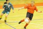 2010.01.23. Vilniaus pedagoginiame universitete vyko tarptautinis merginų futbolo turnyras