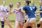 """2010.01.27. Moterų rankinio čempionato rungtynės tarp VPU """"Šviesa-Eglė""""  ir """"ACME-Žalgiris"""" komandų"""