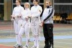 """Tarptautinių fechtavimosi varžybų """"Lietuvos taurė-2009"""" akimirkos"""