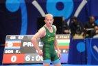 Lietuvos imtynininkai kovoja pasaulio čempionate Kazachstane.