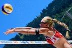 """I. Dumbauskaitė ir M. Povilaitytė FIVB World Tour"""" serijos """"Gstaad Major"""" turnyro atrankoje"""